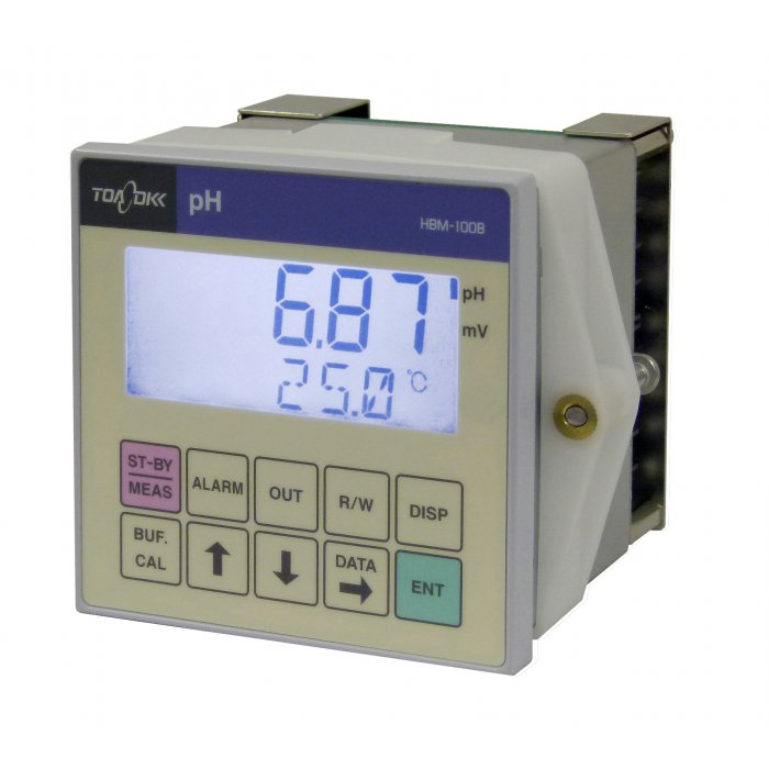 Panel Mount pH/ORP Analyzer HBM-100B/102B